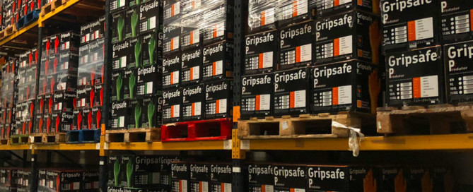 Gripsafe Gloves in the Warehouse