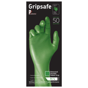 Gripsafe Green Box (Stood Up)