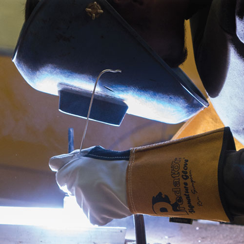 Welding with Signature Tig