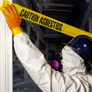 Cover image for work gloves for asbestos handling