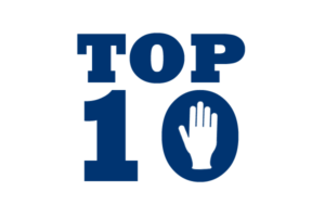'Top 10' cover image for top 10 gloves