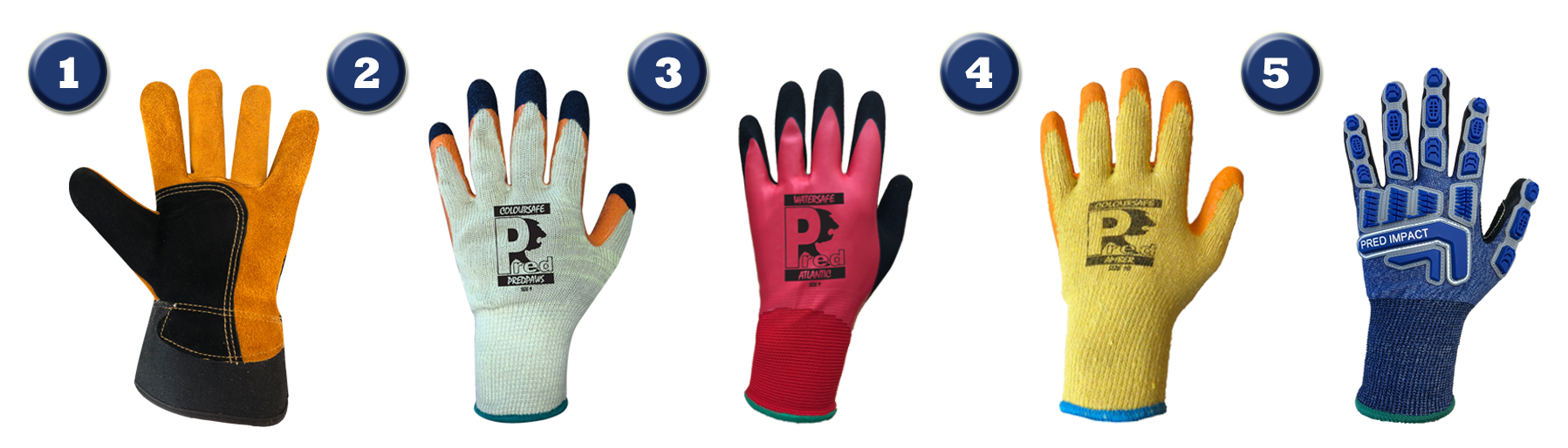 Top 5 Gloves for Construction (images)